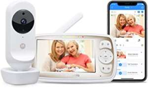Motorola Connect20 by Hubble Connected Video Baby Monitor